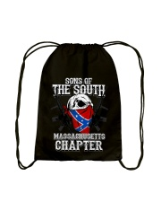SONS OF THE SOUTH MASSACHUSETT Drawstring Bag tile