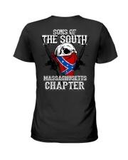 SONS OF THE SOUTH MASSACHUSETT Ladies T-Shirt tile