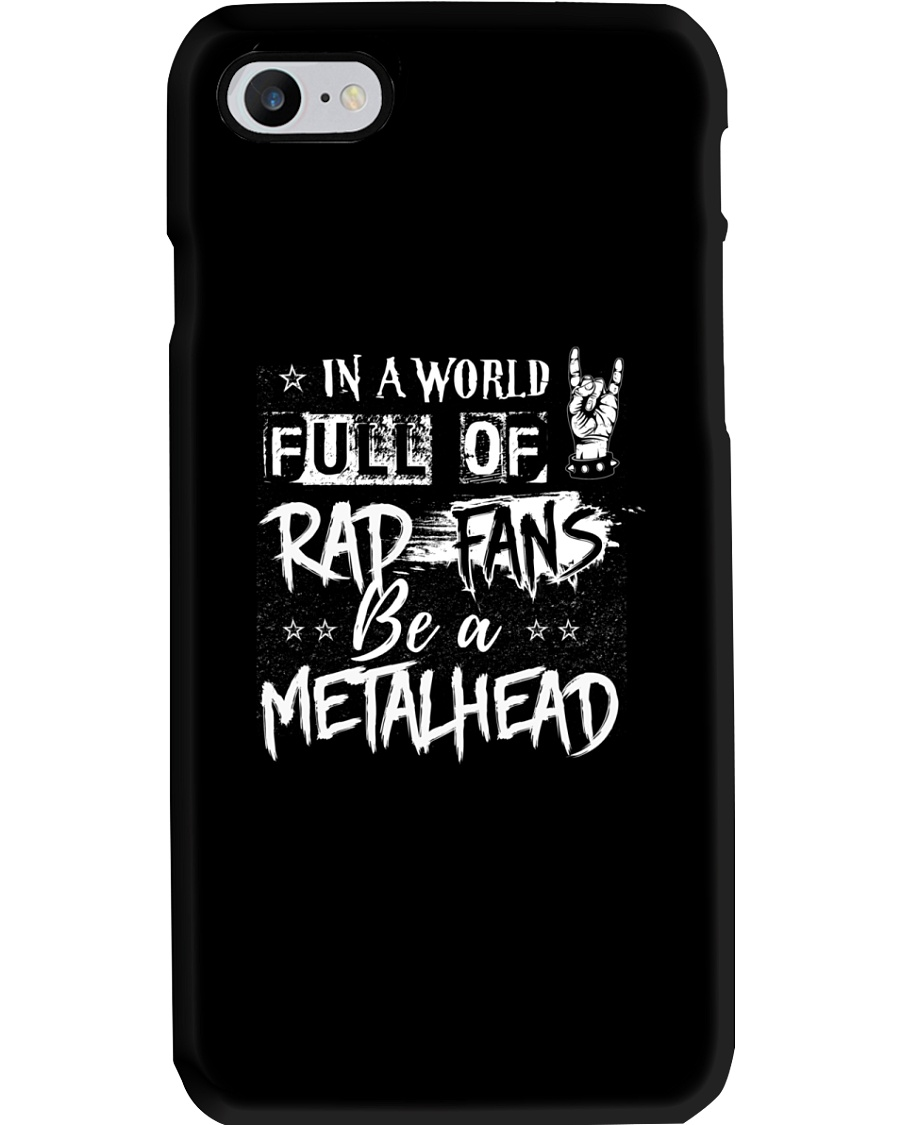 METAL GIRL WITH TATTOOS Phone Case