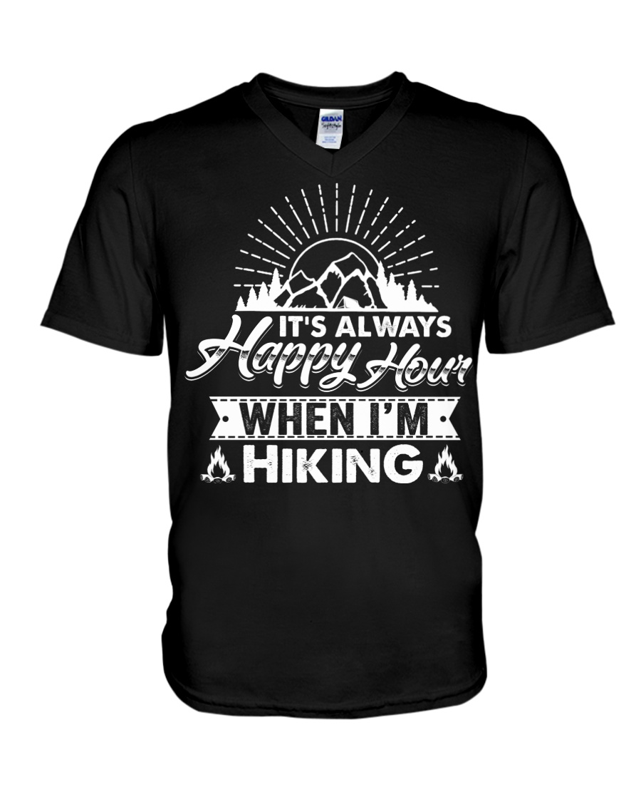 HIKING V-Neck T-Shirt