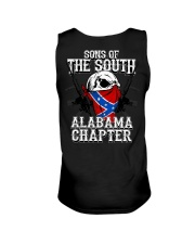 SONS OF THE SOUTH ALABAMA Unisex Tank tile