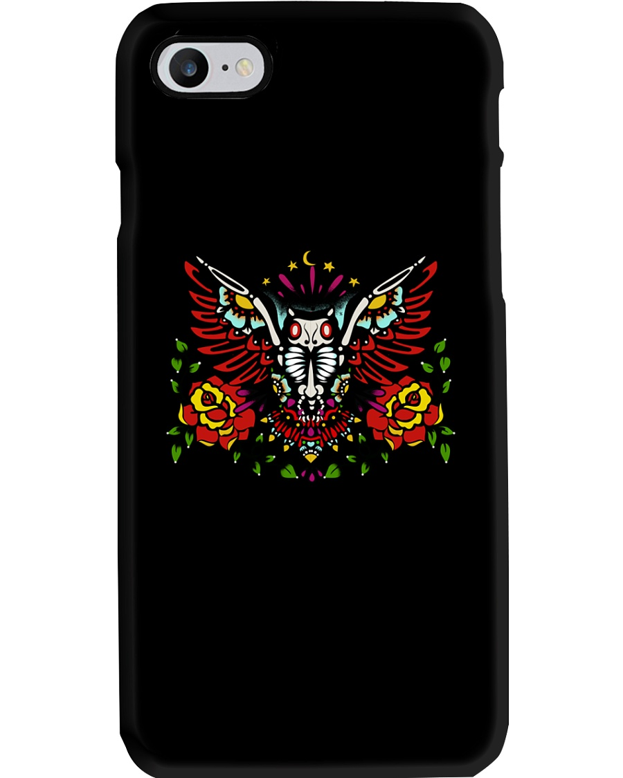 OWL THE DAY OF DEAD Phone Case