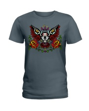 OWL THE DAY OF DEAD Ladies T-Shirt front