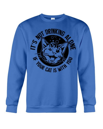 DRINK WITH CATS T-SHIRT