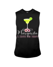 MARGARITA IS CHEAPER THAN THERAPY Sleeveless Tee thumbnail