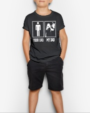 YOUR DAD MY DAD Youth T-Shirt lifestyle-youth-tshirt-front-1