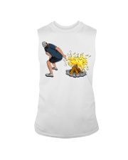 HOW TO LIT A BORNFIRE Sleeveless Tee front