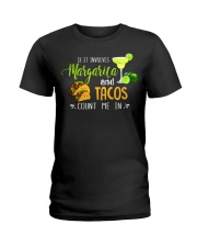 MARGARITA AND TACOS Ladies T-Shirt front