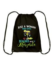 JUST A WOMAN Drawstring Bag thumbnail