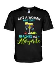 JUST A WOMAN V-Neck T-Shirt thumbnail