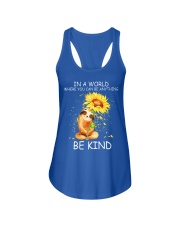 BE KIND Ladies Flowy Tank front