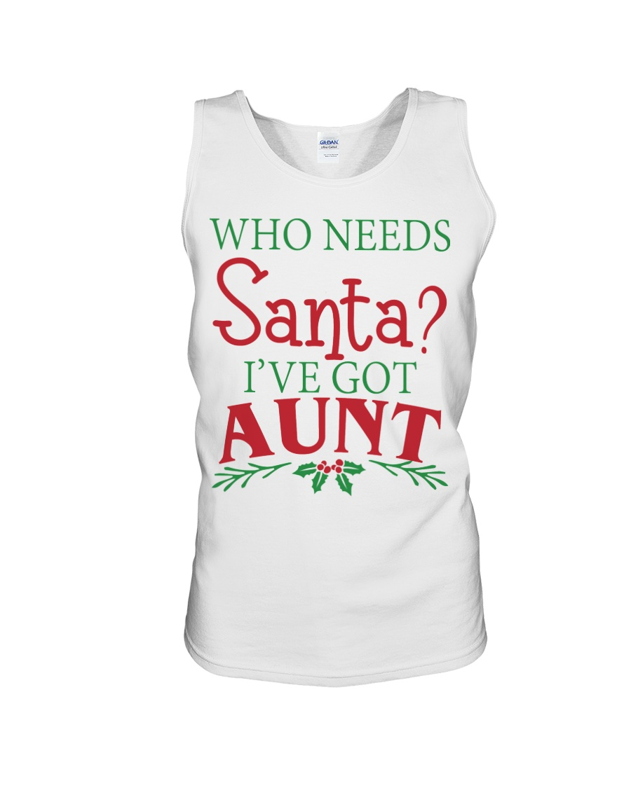 WHO NEEDS- BEST GIFT FOR CHRISTMAS Unisex Tank