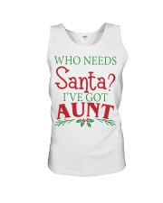 WHO NEEDS- BEST GIFT FOR CHRISTMAS Unisex Tank front
