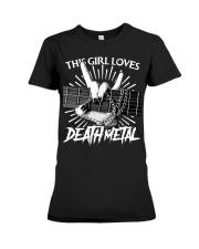 THIS GIRL LOVES METAL Premium Fit Ladies Tee thumbnail