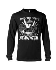 THIS GIRL LOVES METAL Long Sleeve Tee thumbnail