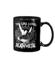 THIS GIRL LOVES METAL Mug thumbnail