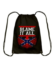 BLAME IT ALL MY ROOTS Drawstring Bag tile