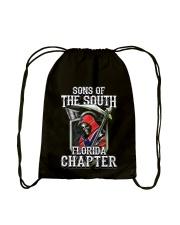 THE SOUTH REAPER FLORIDA Drawstring Bag tile