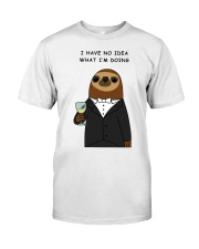 i have no idea what i'm doing here Premium Fit Mens Tee front