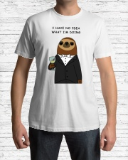 i have no idea what i'm doing here Premium Fit Mens Tee lifestyle-mens-crewneck-front-1