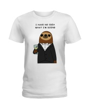 i have no idea what i'm doing here Ladies T-Shirt thumbnail