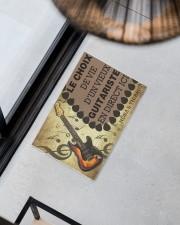 """Le choix de vie dun vieux guitariste en direct ici Doormat 22.5"""" x 15""""  aos-doormat-22-5x15-lifestyle-front-08"""