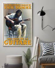qui joue de la guitare 16x24 Poster lifestyle-poster-1