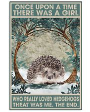 hedgehogs 11x17 Poster front