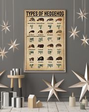 types of hedgehog 11x17 Poster lifestyle-holiday-poster-1