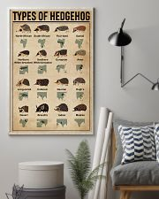 types of hedgehog 11x17 Poster lifestyle-poster-1