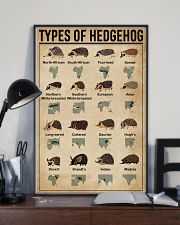 types of hedgehog 11x17 Poster lifestyle-poster-2