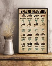 types of hedgehog 11x17 Poster lifestyle-poster-3