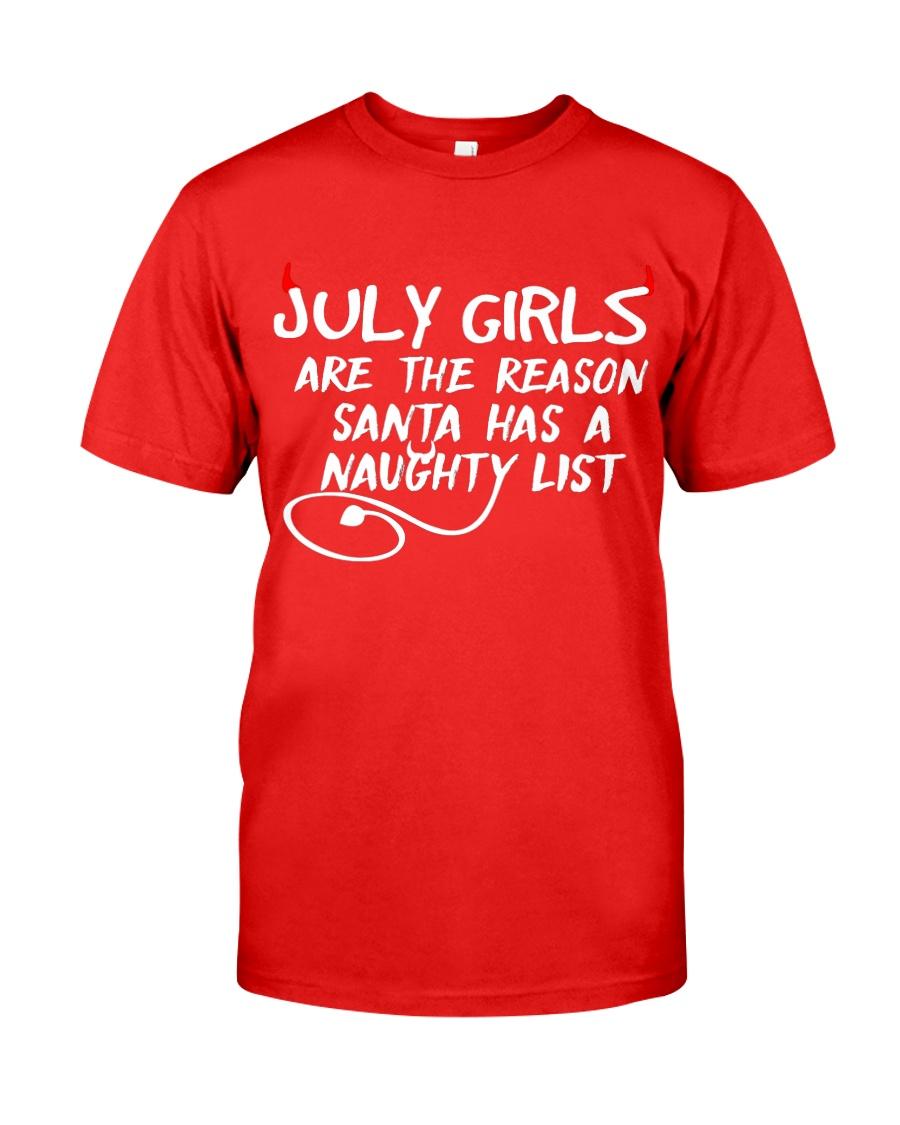 JULY JULY JULY JULY JULY JULY JULY JULY JULY JULY Classic T-Shirt