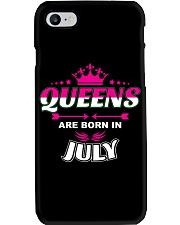 JULY JULY GIRL- JULY WOMEN - JULY BIRTHDAY T-SHIRT Phone Case thumbnail