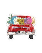 Happiness Is Being A Meme - Truck Art Sticker - Single (Horizontal) front