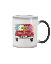 Happiness Is Being A Gigi - Truck Art Color Changing Mug tile