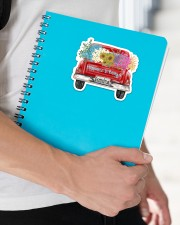 Happiness Is Being A Grandma - Truck Art Sticker - Single (Horizontal) aos-sticker-single-horizontal-lifestyle-front-22