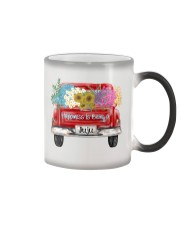 Happiness Is Being A Juju - Truck Art Color Changing Mug tile