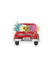 Happiness Is Being An Oma - Truck Art Sticker - Single (Horizontal) front