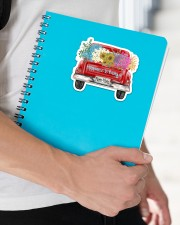 Happiness Is Being A Mom-Mom - Truck Art Sticker - Single (Horizontal) aos-sticker-single-horizontal-lifestyle-front-22