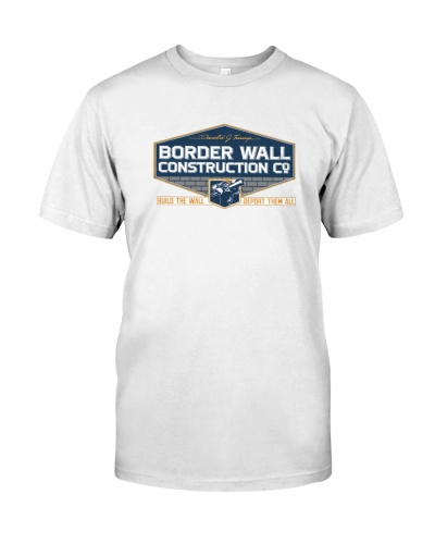 limited edition Trump Border Wall Construction