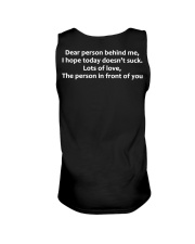 Dear Person Behind Me Hoodie Official Unisex Tank thumbnail