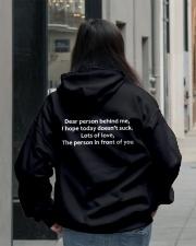 Dear Person Behind Me Hoodie Official Hooded Sweatshirt lifestyle-unisex-hoodie-back-2