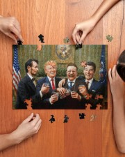 President Party 250 Piece Puzzle (horizontal) aos-jigsaw-puzzle-250-pieces-horizontal-lifestyle-front-07