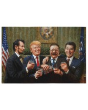 President Party 250 Piece Puzzle (horizontal) front