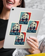 Kayleigh Facts Sticker Sticker - 4 pack (Vertical) aos-sticker-4-pack-vertical-lifestyle-front-13