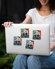 Kayleigh Facts Sticker Sticker - 4 pack (Vertical) aos-sticker-4-pack-vertical-lifestyle-front-14
