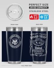 45TH President 20oz Tumbler aos-20oz-tumbler-lifestyle-front-60