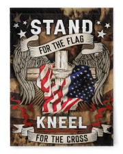 "Stand For The Flag Kneel For The Cross - 1 29.5""x39.5"" House Flag front"