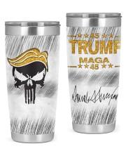 Trump Punisher 20oz Tumbler front